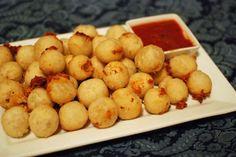 Fried Dough Mozzarella Bites -