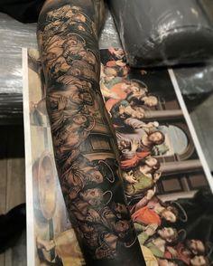 last supper forearm tattoo tattoo i want pinterest