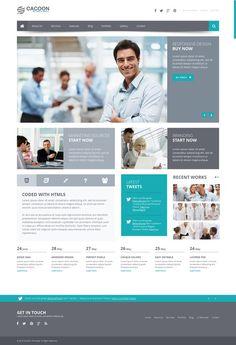 Cacoon - Responsive Business #Wordpress Theme http://themeforest.net/item/cacoon-responsive-business-wordpress-theme/5062757?ref=wpaw #web #design #cms