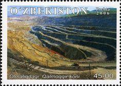 Uzbekistán 2006 - Mina a cielo abierto