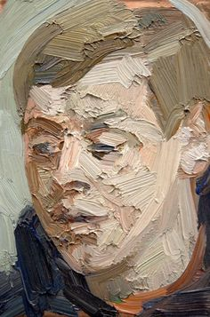Untitled Portrait 2013, Tai-Shan Schierenberg, Oil on Copper Panel, 10 x 15cm