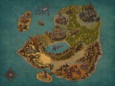 Northrend World Map by rsholtis in 2019 World of