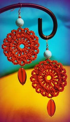 #crochet #earrings. by unvme2
