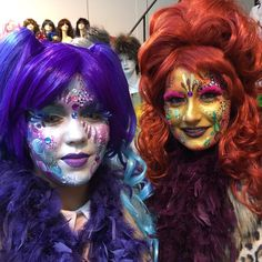 Fairy Makeup, Fantasy Costumes, Diy Party, Face And Body, Body Painting, Halloween Costumes, Halloween Face Makeup, Make Up, Cosplay