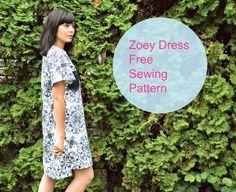Zoey Dress Pattern | AllFreeSewing.com