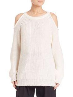IRO Lineisy Cold Shoulder Sweater. #iro #cloth #sweater