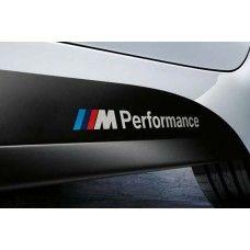 Bmw -hez M Performance matrica, felirat Bmw