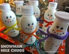 Snowman Milk Chugs