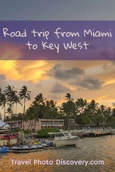 Miami to Key West road trip - Highlight road to popular attractions, landmarks, natural parks, beaches and other popular places to visit in the Florida Keys Visit Florida, Florida Vacation, Florida Travel, Travel Usa, Florida Trips, South Florida Map, The Florida Keys, Key West Florida Hotels, Marathon Florida Keys