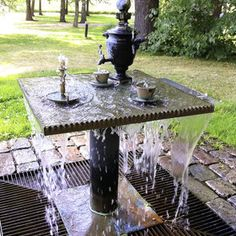 Most awesome water fountain that I have ever seen!