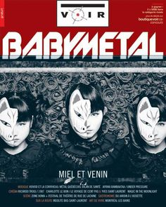 The cover of #Voir. Man am I ever excited!! #babymetal tomorrow.