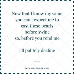 Value of a Pearl, by Clea McLemore #Poetry #Quotes #FameAndGlory