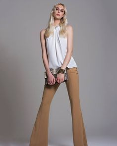 Para um look mais casual, aposte em tons neutros e os combine com seus melhores acessórios.  SHOP NOW: http://www.amissima.com.br/