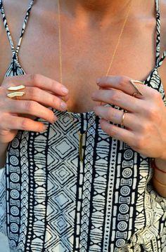 Gorjana jewelry.