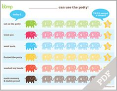 Princess Potty Training ChartWe Used This Chart For Our Daughter