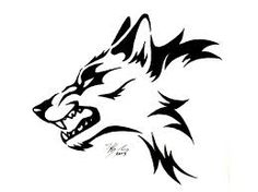 wolf profile angry - Google Search