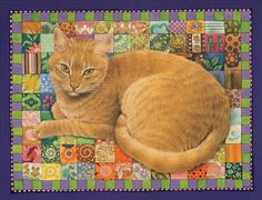 An Illustrator's Inspiration: Lesley Anne Ivory and some other cat painters