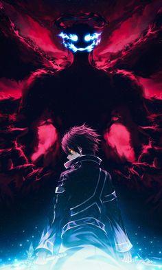 Kirito Sword, Sword Art Online Kirito, Online Anime, Online Art, Anime Warrior Girl, Cool Anime Pictures, Sword Art Online Wallpaper, Chica Anime Manga, Anime Angel