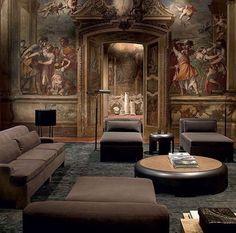 Simply breathtaking @bottegaveneta furniture- #milandesignweek #bottegaveneta #italianstyle #italiandesign # #luxury #interior #home #decor #homedesign #instagood #instahome #instadecor #instafollow #divine #breathtaking #mural #art #renaissance #oldmeetsnew #sophisticated #follow #followme #lamaisonbyelle #beauty #perfection #fashion #meets #design by lamaison_by_elle http://discoverdmci.com