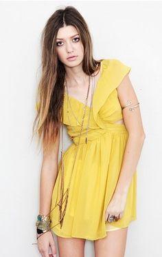 Keepsake Lost Without You Dress 10-18-11 @NicoleRichie