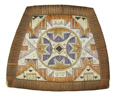 Traditional Micmac Indian quillwork dating from circa 1850-60