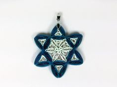 Paper Quilled Star of David Pendant  paper by SweetheartsandCrafts