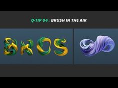 """In this video I show you how to create a """"brush in the air"""" effect. All you have to do is create a landscape object (or object with a lot of polygons), add """"spline… Tutorial Sites, 3d Tutorial, Cinema 4d Tutorial, Animation Tutorial, Vray For C4d, Learn Animation, V Ray Materials, After Effect Tutorial, 3d Typography"""