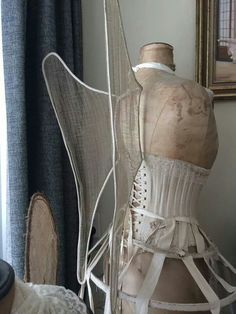 winged corset