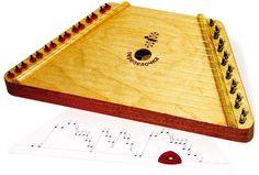 Dřevěné hračky - Dětské hudební nástroje - Cimbál