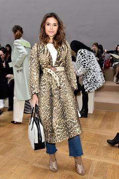 Miroslava Duma Photos Photos - Chloe : Front Row - Paris Fashion Week Womenswear Fall/Winter 2016/2017 - Zimbio