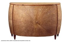 Jean-Michel Frank Art Deco commode in shagreen and wood.