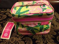 Lilly Pulitzer Target Cosmetic Makeup Bag #LillyPulitzer
