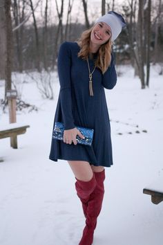 Over the Knee Boots (that won't cost you an arm & a leg!) #choies #oldnavy