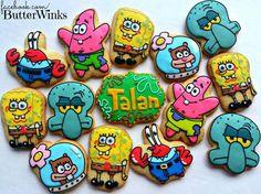 Spongebob Cookies | Butterwinks