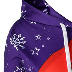 Fxbar,Womens Christmas Striped Sweatshirt Santa Pullover O-Neck Loose Jumper