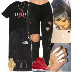 Untitled #1360 by msixo on Polyvore featuring The North Face, Rolex and Magda Butrym