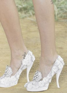 Shoes at Chanel Spring 2010  Who knew these shoes would ever come back?!