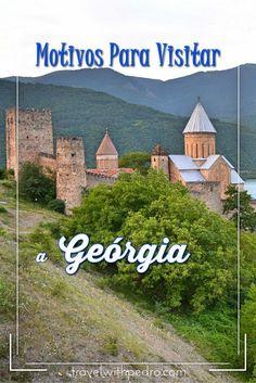 14 Motivos para você visitar a República da Geórgia, um dos países mais bonitos do mundo, localizado na região do Cáucaso.