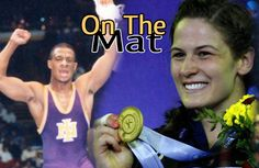 World Champion Adeline Gray & UNI NCAA champion Tony Davis go On The Mat