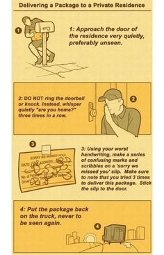 UPS Delivery Instructions
