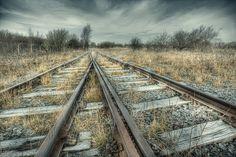 forgotten rail track