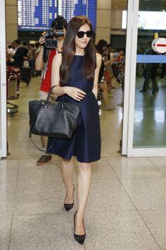 [2014.06.10] Ha Ji Won at the Incheon International Airport