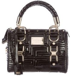 Gianni Versace Madonna Patent Leather Bag  http://shopstyle.it/l/bMay