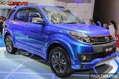 2016 #Toyota #Rush (facelift) showcased at IIMS 2016 – Indonesia