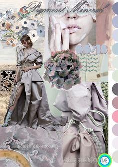 "Trend Orientations © Mirella Bruno Print Trend Colour Designs 2016. ""Pigment Mineral"" SS/18 Propagating since June 2016. http://cargocollective.com/mirella-bruno-print-designs/Inspiration-Information"