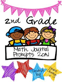 2nd Grade Math Journal Prompts- 2.OA.1