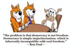 Democracy = Majoritarianism