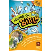 NLT Hands-On Bible, Hardcover  - fantastic full-text bible for 7-14 year olds