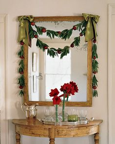 20 Christmas Garland Decorating Ideas - Bright Bold and Beautiful Blog