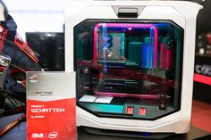 At Dreamhack Cluj-Napoca 2015 in Romania this masterpiece called 'Schatten' was submitted in the PC modding competition by Arassel. The levels of detail and artwork in this build are some of the best we've ever seen. Build log: http://www.mygarage.ro/pc-tuning-moddi…/243902-schatten.html
